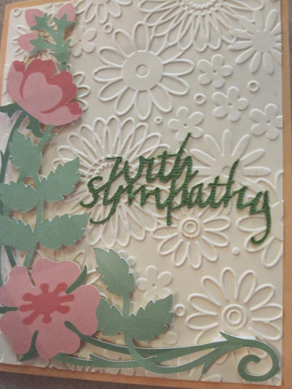 Print Out Sympathy Cards Unique She S A Sassy Lady Quick Sympathy Card Cricut Explore