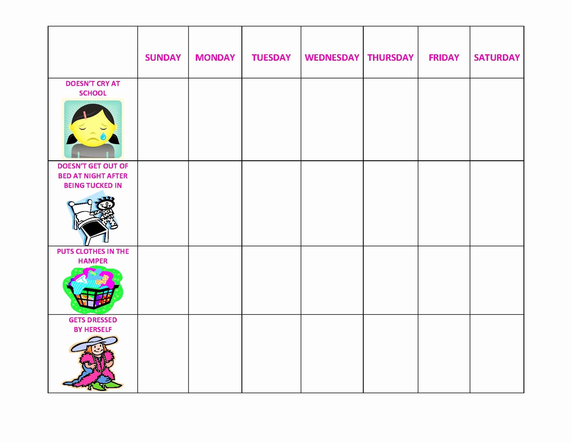 Printable Behavior Charts for Home New Essays On Behavior Modification Pdfeports867 Web Fc2