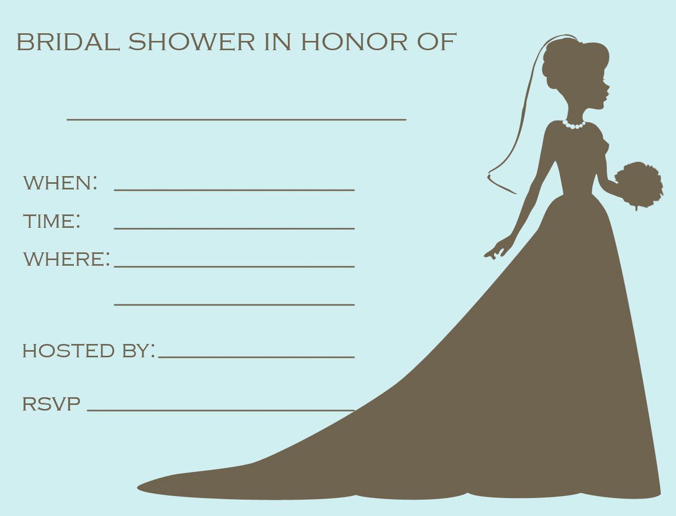 Printable Bridal Shower Invitations Luxury Free Printable Bridal Shower Invitations