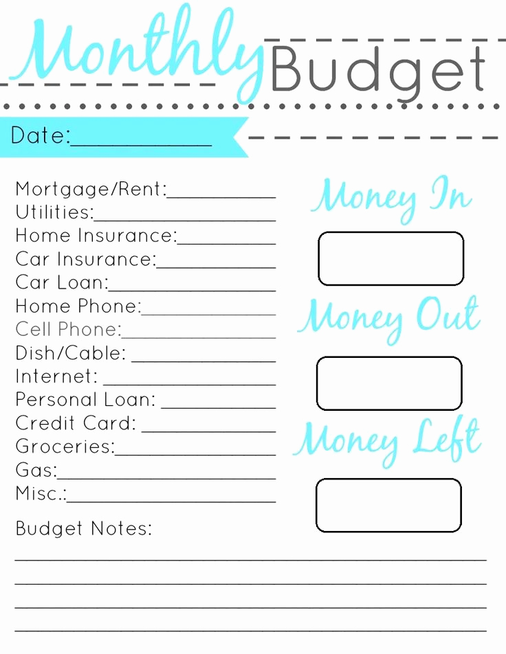 Printable Budget Worksheet Pdf Beautiful Pin by Nicole Kovaleski On Charts