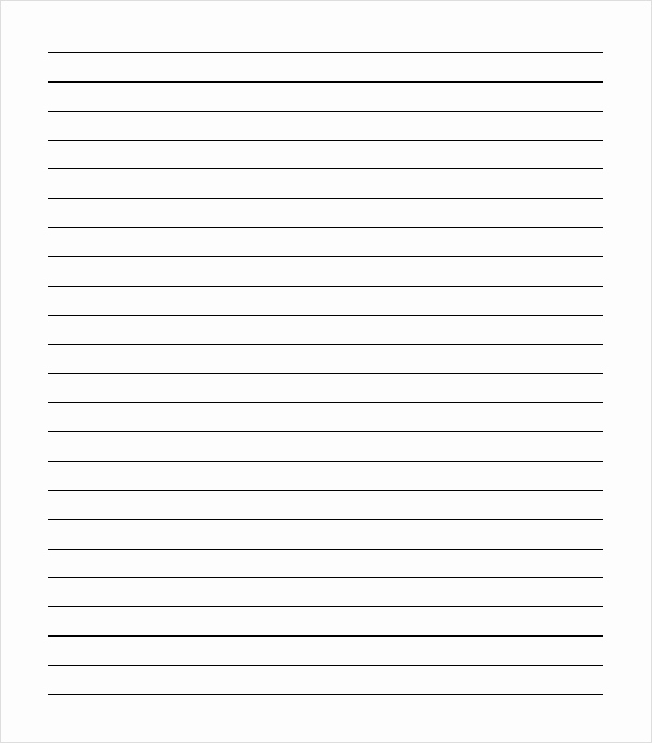 Printable College Ruled Paper Awesome Best S Of Notebook Paper Pdf College Ruled Notebook