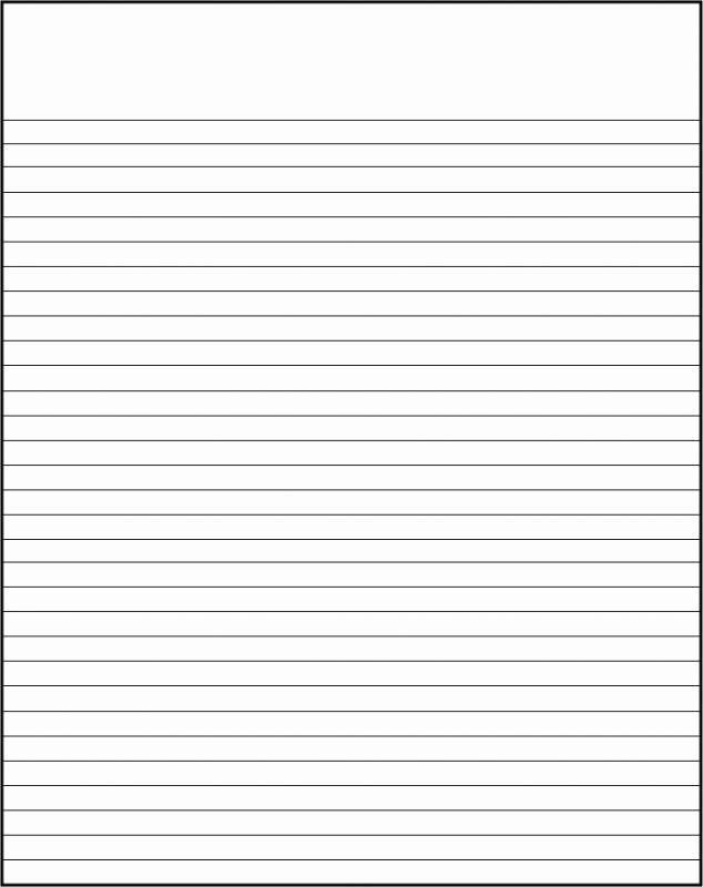 Printable College Ruled Paper Inspirational Printable College Ruled Paper