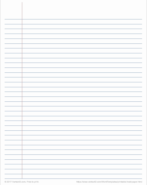 Printable College Ruled Paper Inspirational Printable Graph Paper Templates for Word Inside Printable