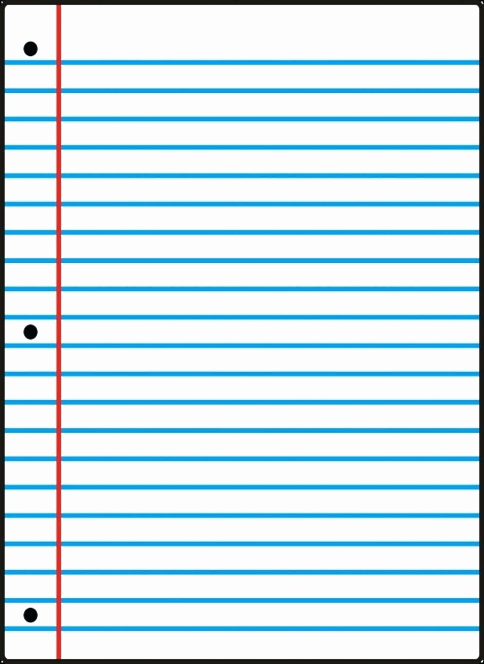 Printable College Ruled Paper Inspirational Wide Ruled Notebook Paper Template
