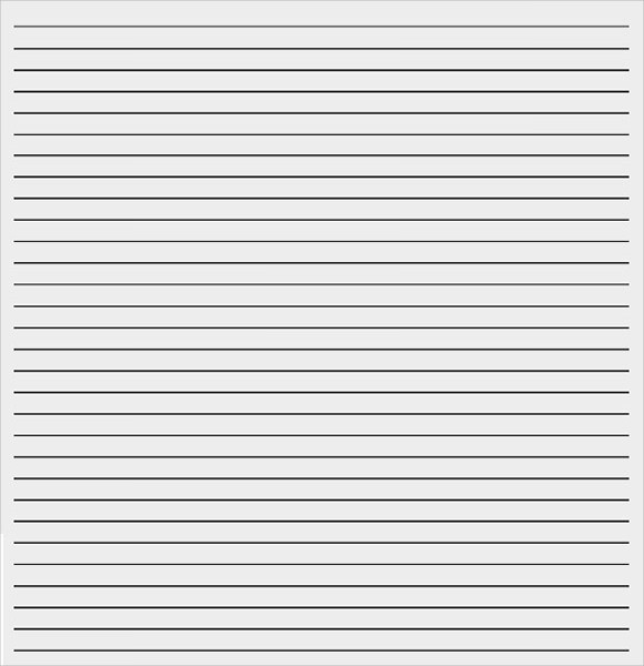 Printable College Ruled Paper Luxury 12 Lined Paper Templates Pdf Doc