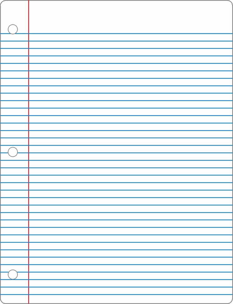 Printable College Ruled Paper Luxury Notebook Paper Template