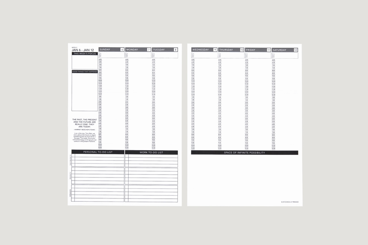 Printable Daily Planner 2019 Inspirational Free Printable Dated Planner 2019