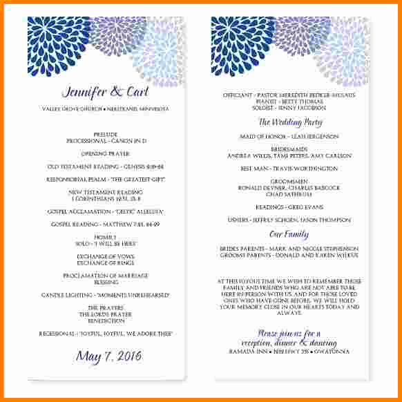 Printable event Program Template Beautiful event Program Template Google Docs Archives 2019