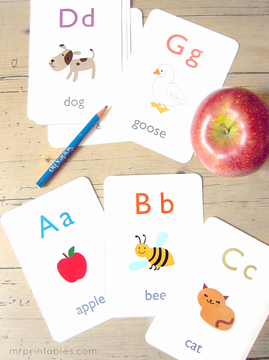 Printable Flash Card Maker Beautiful Alphabet Flash Cards Mr Printables