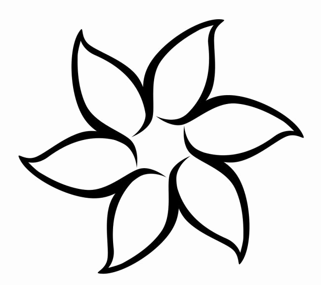 Printable Flower Template Cut Out Beautiful Best S Of Flower Patterns to Cut Out Paper Flower