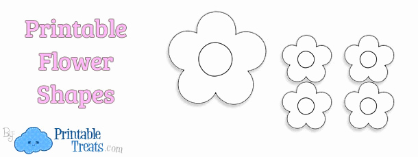 Printable Flower Template Cut Out Best Of Printable Flower Shapes to Cut Out — Printable Treats