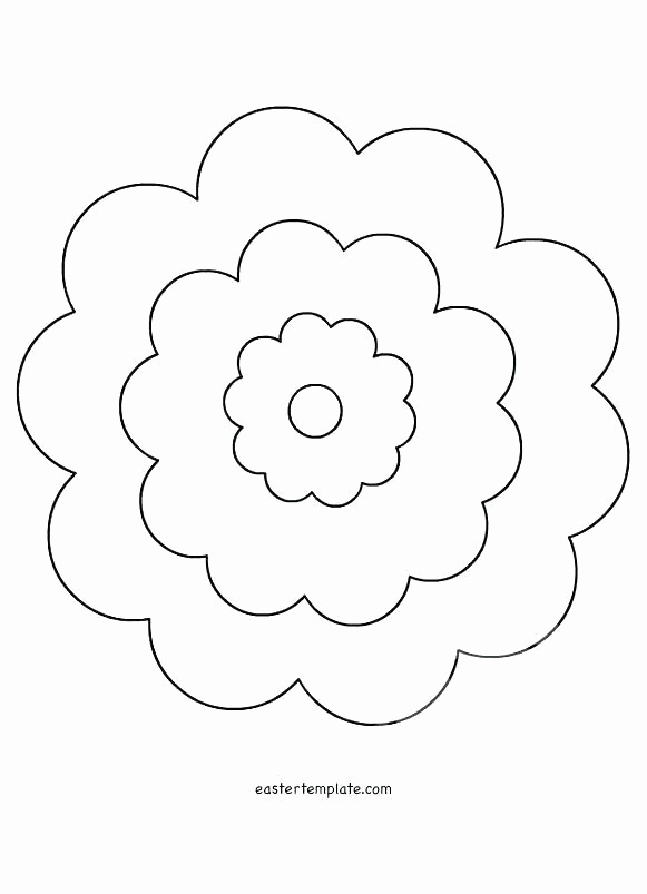 Printable Flower Template Cut Out Luxury Printable to Cut Out Flowers