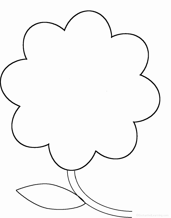 Printable Flower Template Cut Out New Free Blank Flower Template Download Free Clip Art Free