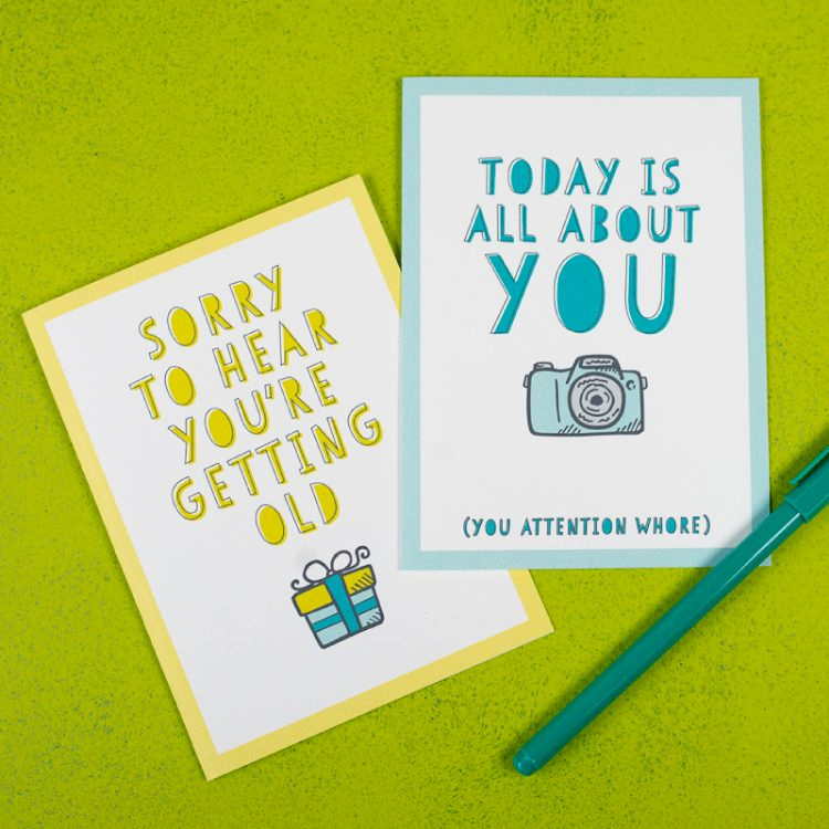 Printable Funny Birthday Cards Awesome Free Funny Printable Birthday Cards for Adults Eight