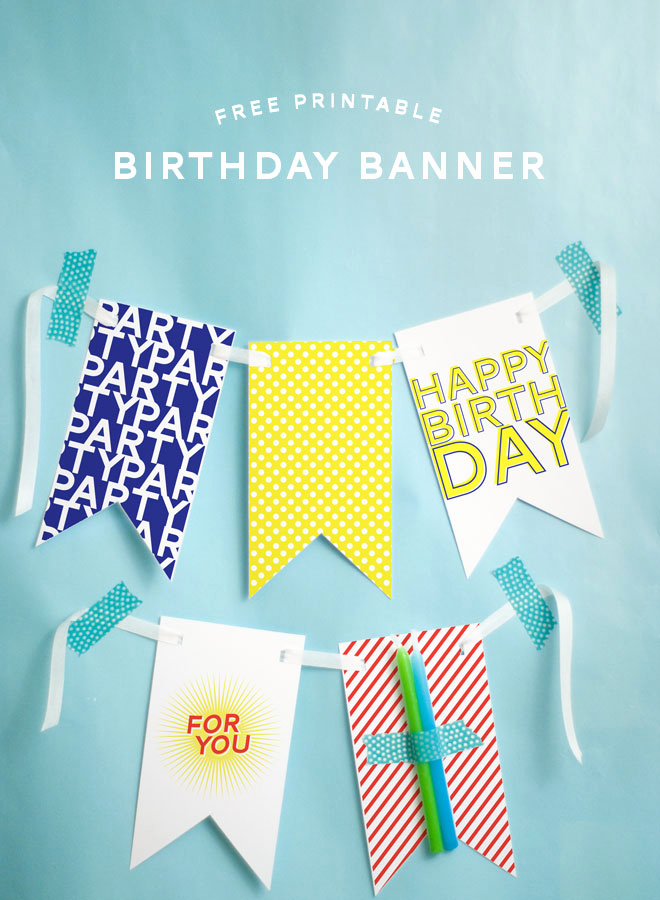 Printable Happy Birthday Banners Best Of Free Printable Happy Birthday Banner
