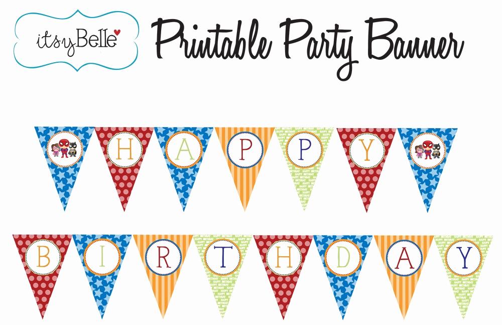 Printable Happy Birthday Banners Luxury Free Printable Happy Birthday Banner Templates