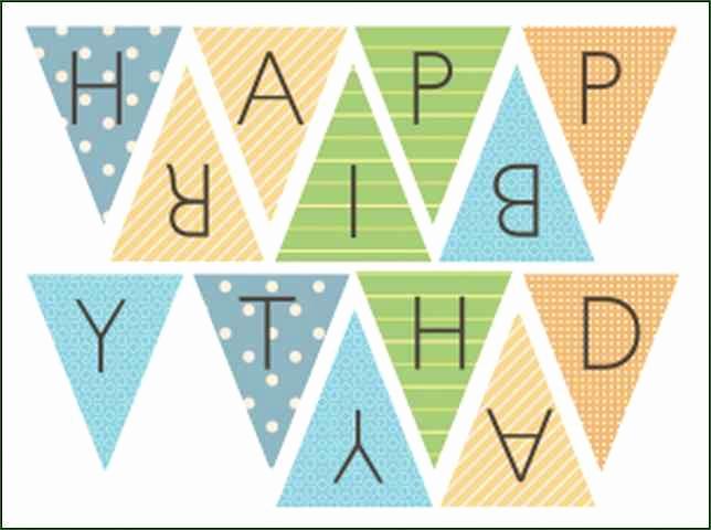 Printable Happy Birthday Banners Unique Happy Birthday Banner Printable Template