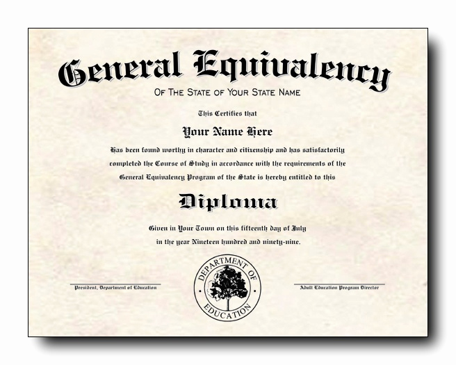 Printable High School Diploma Best Of are People with Ged S More Like High School Graduates or