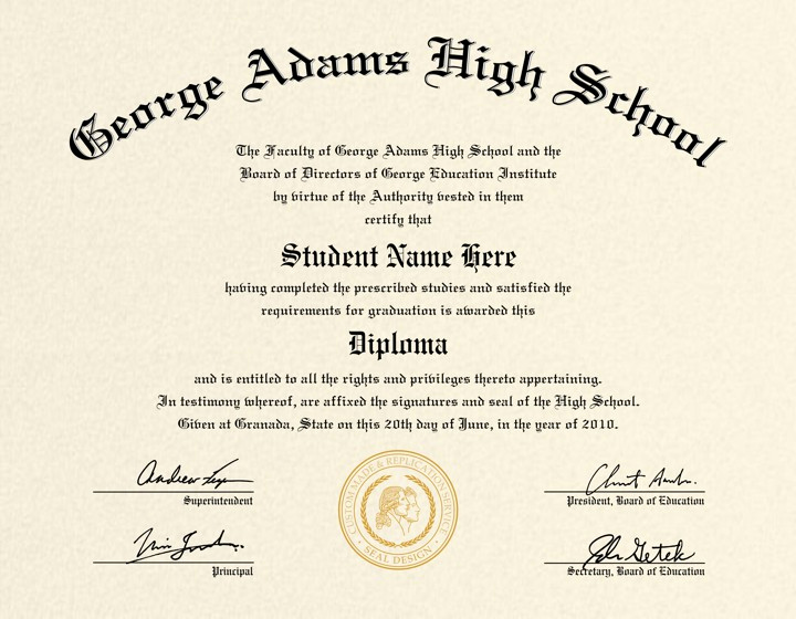 photo regarding Printable High School Diploma named Printable Substantial Higher education Degree Simplest Of Large College Degree