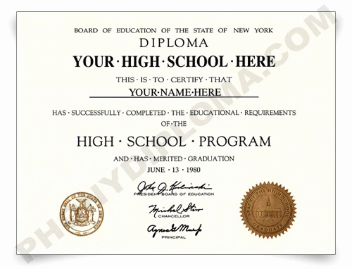 Printable High School Diploma Fresh Fake High School Diploma Designs From Phonydiploma
