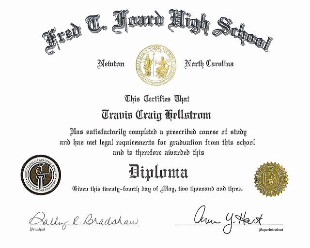 Printable High School Diploma Inspirational 50 Free High School Diploma Template Printable