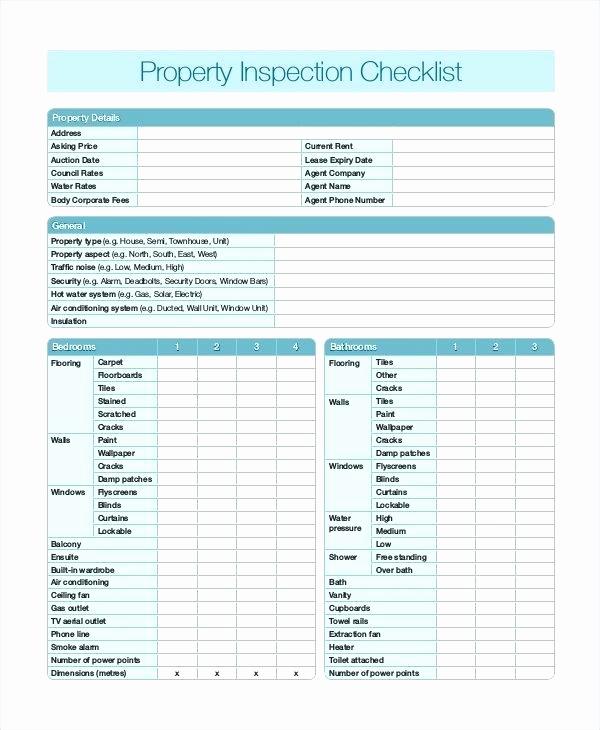 Printable Home Inspection Checklist Unique Checklist for Home Inspection Printable Homemade Ftempo