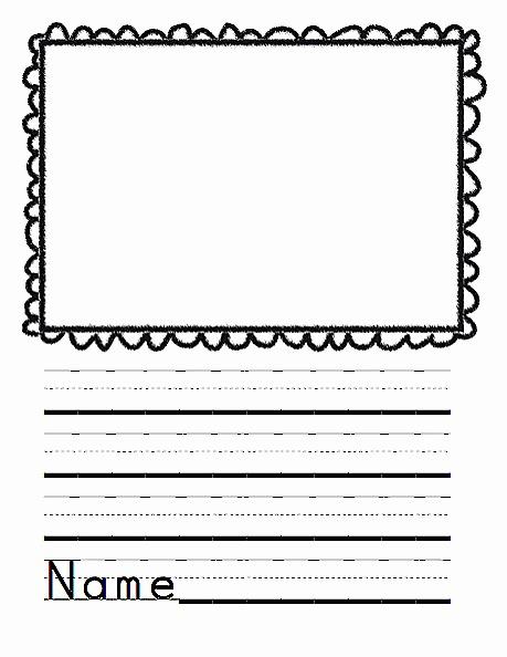 Printable Kindergarten Writing Paper Best Of Mon Core Blogger February 2014