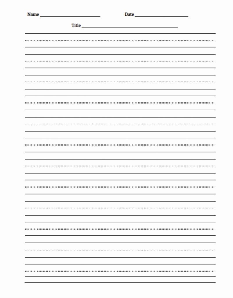 Printable Kindergarten Writing Paper Elegant 2018 Calendar Printable Template Word Pdf Excel