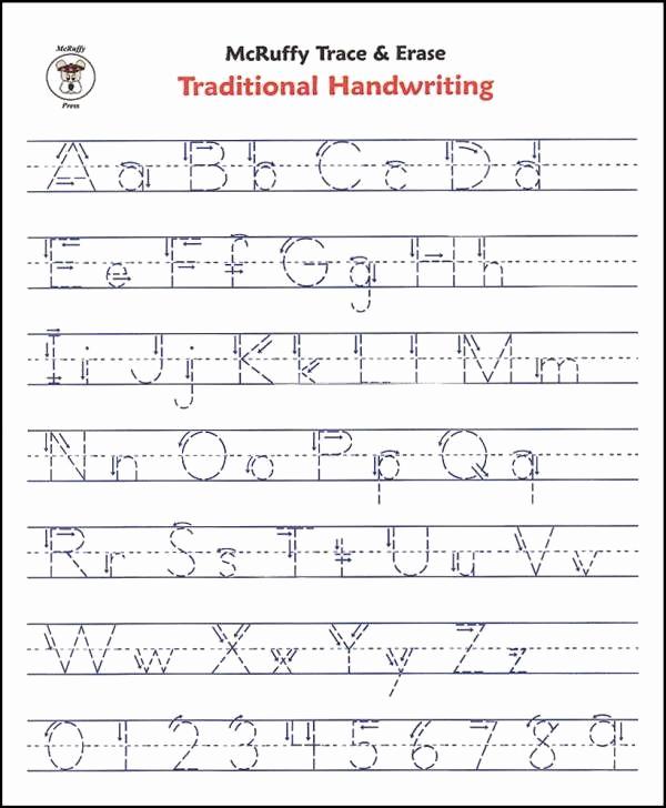 Printable Kindergarten Writing Paper New Free Printable Alphabet Writing Worksheets for