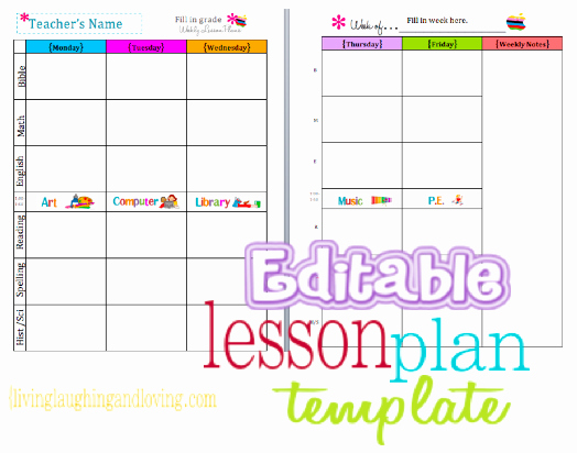 Printable Lesson Plan Template Awesome Mess Of the Day I'm Not that Kind Of Teacher Printable