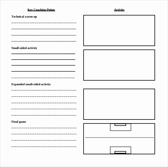 Printable Lesson Plan Template Unique 11 Sample Blank Lesson Plans