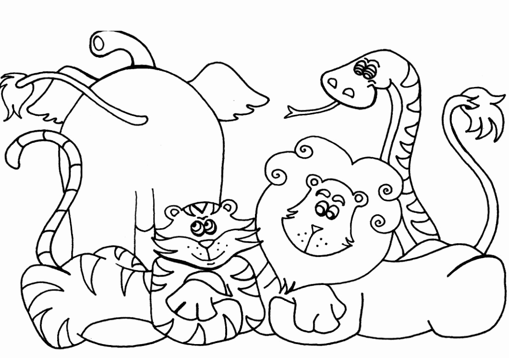 Printable Pictures Of Animals Fresh Free Printable Preschool Coloring Pages Best Coloring
