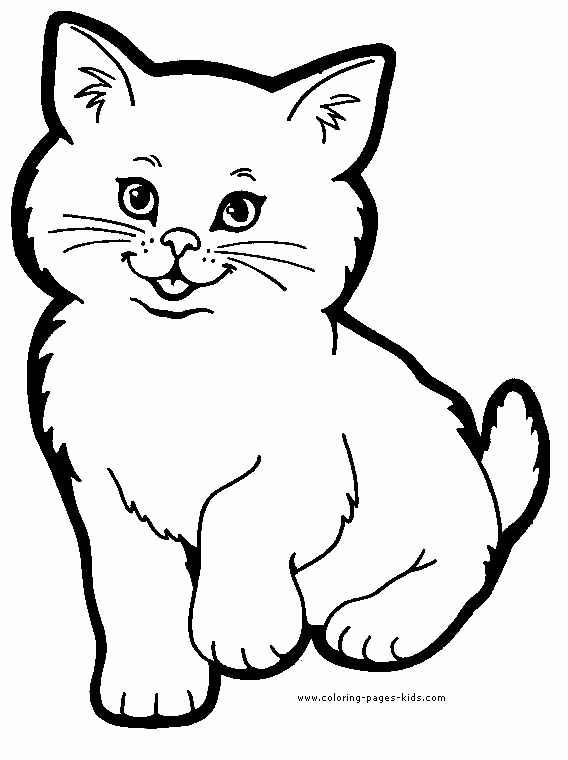 Printable Pictures Of Animals Luxury Cat Color Page Animal Coloring Pages Color Plate