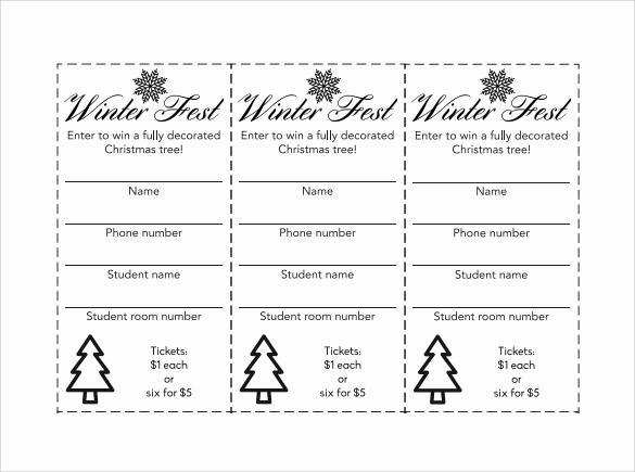 Printable Raffle Tickets Pdf Luxury Usyhnews