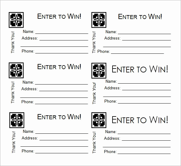 Printable Raffle Tickets Pdf New 31 Raffle Ticket Templates Pdf Psd Word Indesign