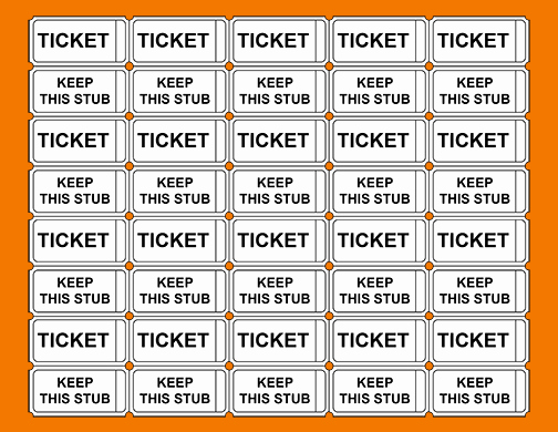 Printable Raffle Tickets Pdf New 4 Printable Raffle Tickets
