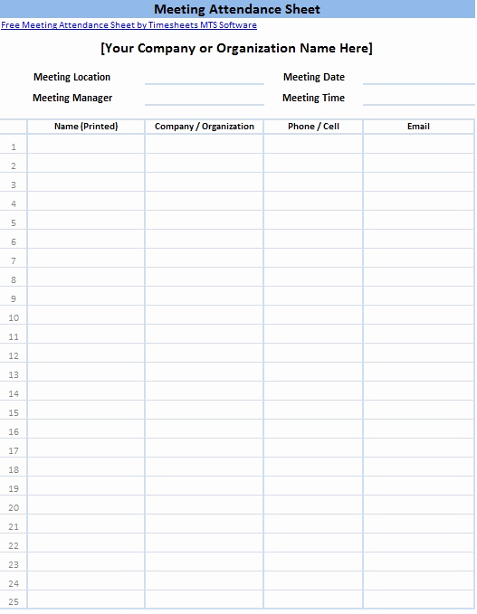 Printable Sign In Sheet Best Of Printable Sign In Sheet Templates