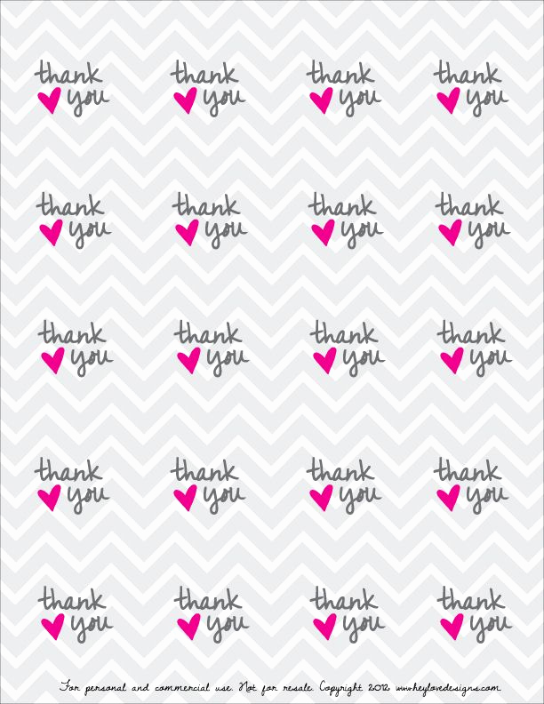 Printable Thank You Tags Elegant Free Printable Thank You Favor Tags Grad Ideas