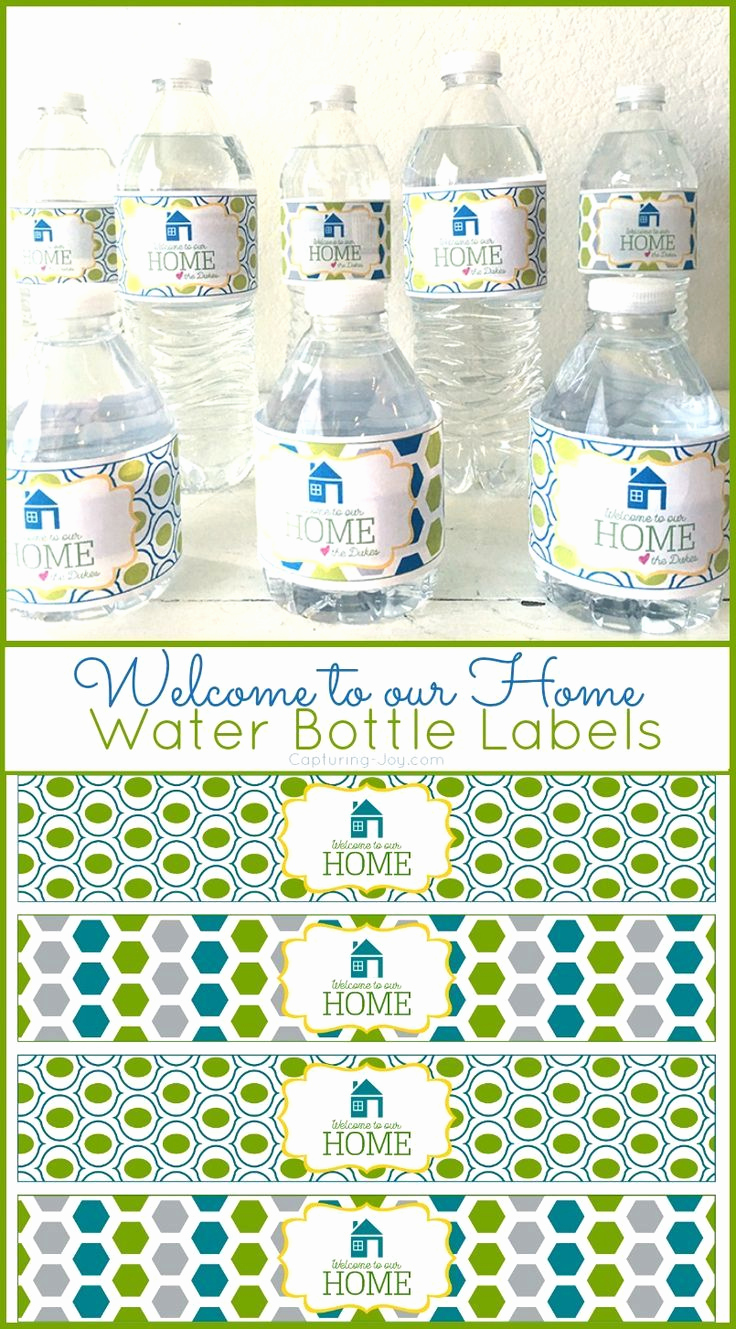 Printable Water Bottle Labels Beautiful 17 Best Images About Printables On Pinterest