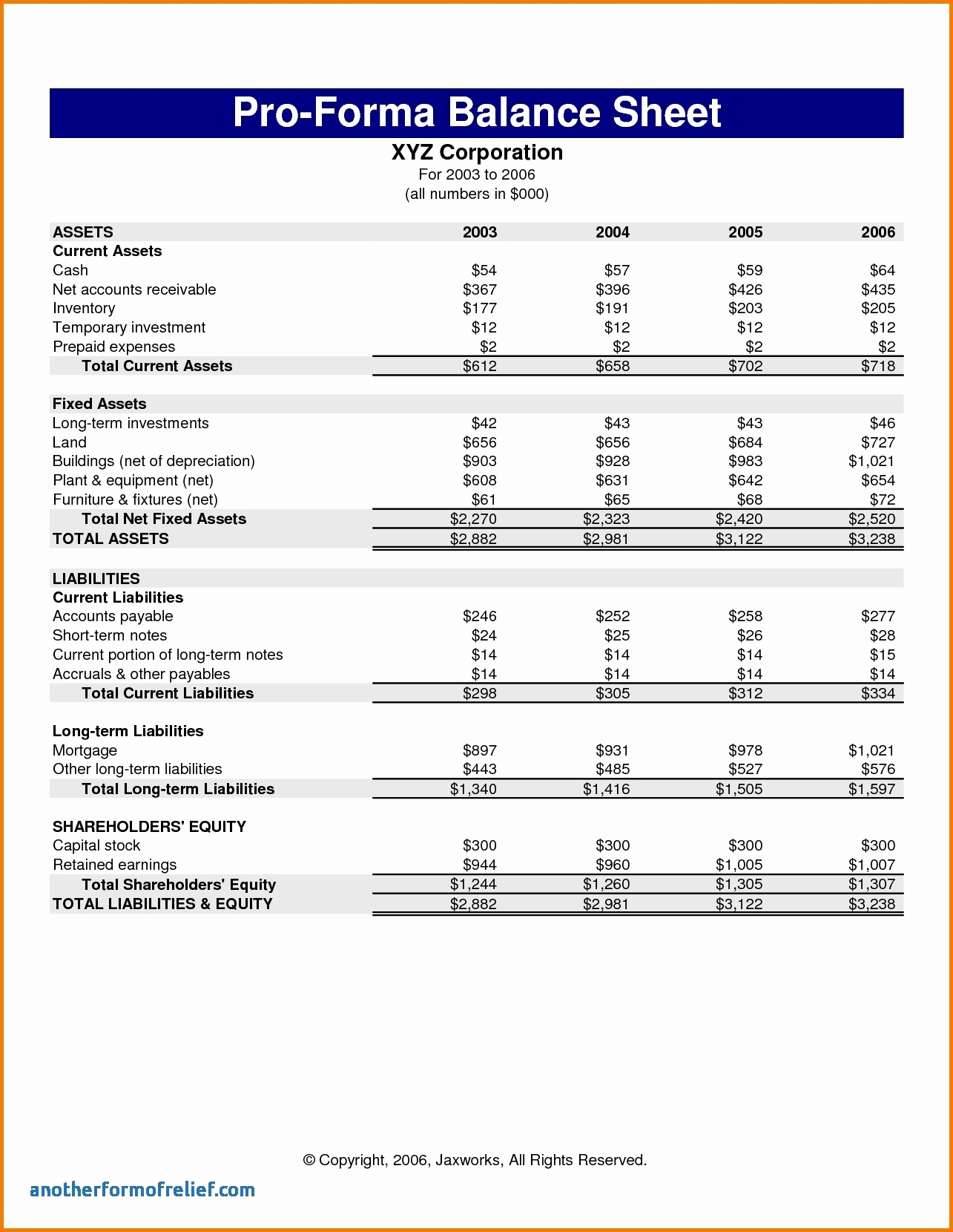 Pro forma Income Statement Template Best Of Pro forma In E Statement Template 2018