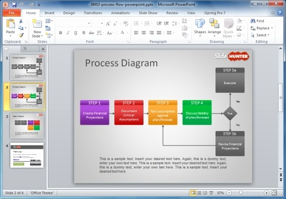 Process Flow Chart Template Lovely How to Make A Flowchart In Powerpoint