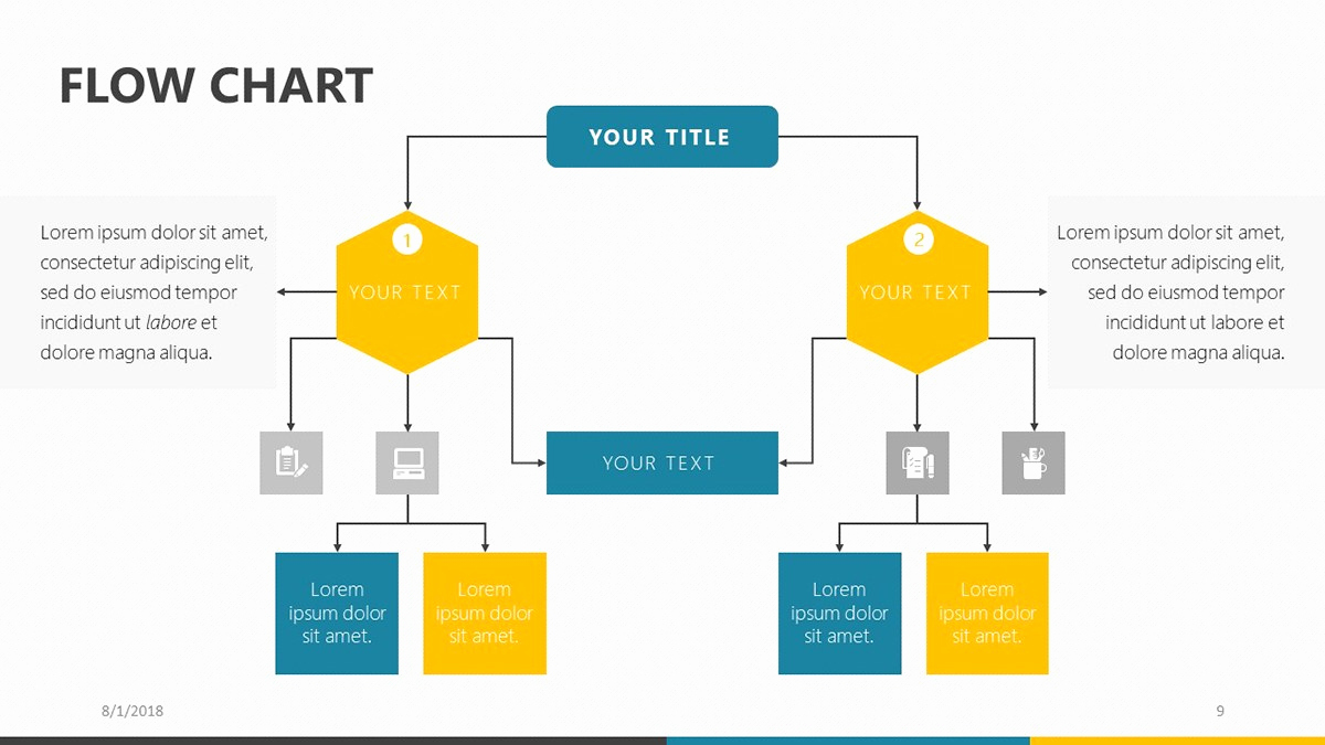 Process Flow Chart Template Unique Flow Chart Design Powerpoint – Free Powerpoint Flow and