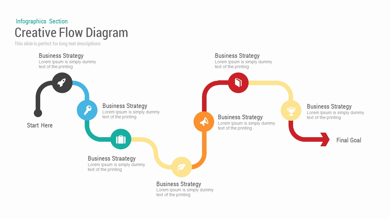 Process Flow Chart Templates Beautiful Business Flow Diagram Powerpoint Template & Keynote