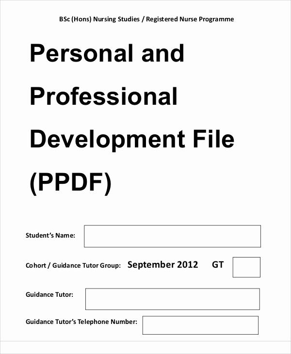 Professional Development Plan Sample Unique Professional Development Plan Sample 13 Examples In