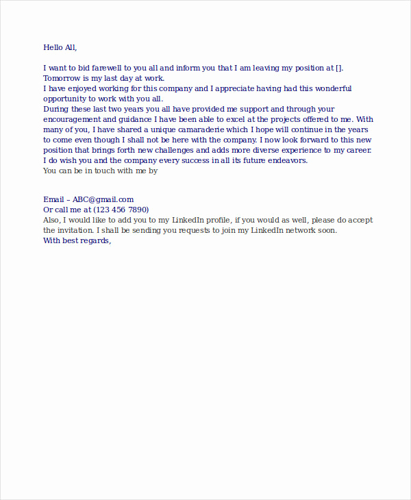 Professional E Mail Template Beautiful 16 Professional Email Examples Pdf Doc