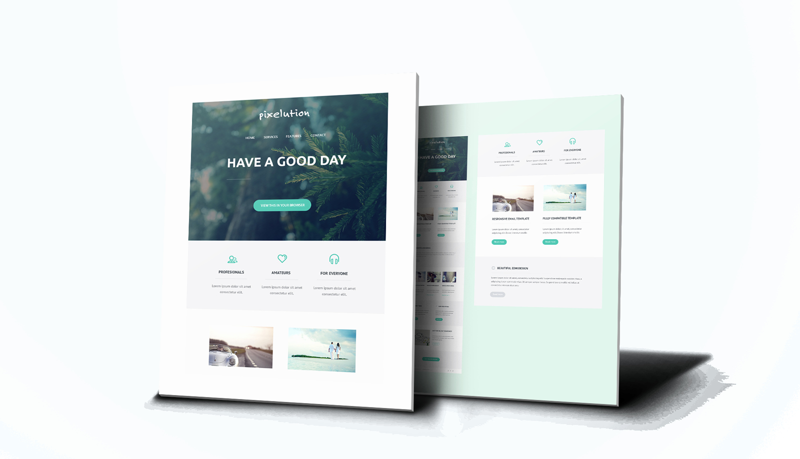 Professional E Mail Templates Awesome Professional Email Templates Digital Design
