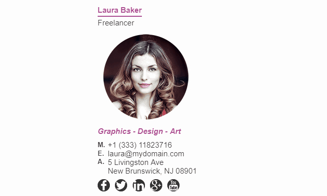 Professional Email Signature Student Beautiful How to Add social Media Icons to Your Email Signature