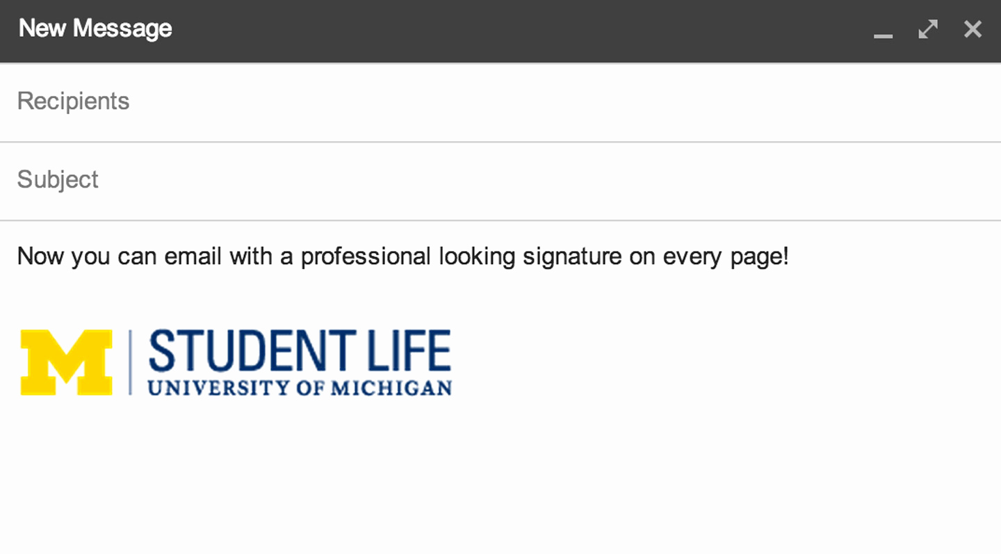 Professional Email Signature Student New How to Add A Logo Signature to Your Gmail