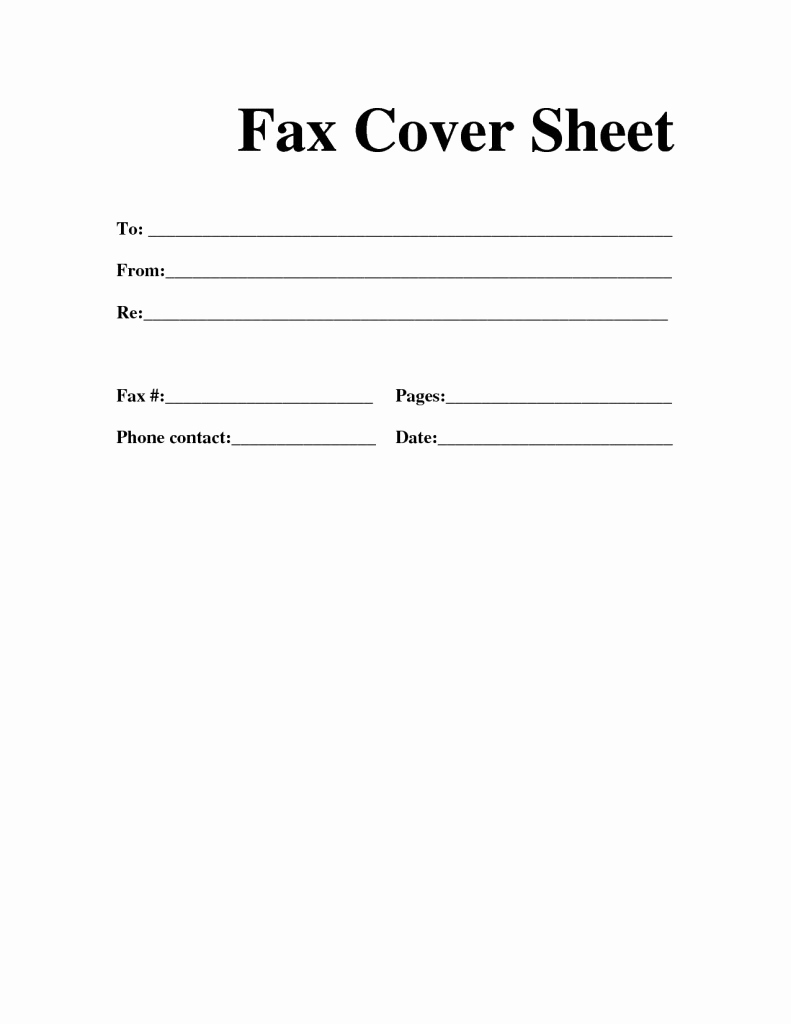 Professional Fax Cover Sheet Beautiful Professional Fax Cover Sheet