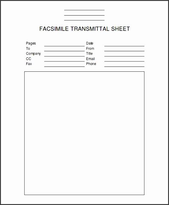 Professional Fax Cover Sheet Luxury 8 Fax Cover Template Sampletemplatess Sampletemplatess